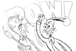 Thumbnail image for Cartoonists Hate Nazis: The toon and the video