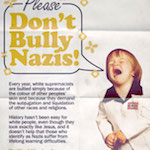 Thumbnail image for Public Service Announcement: Please Don't Bully Nazis (toon)