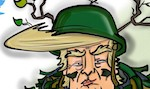 Thumbnail image for Donald Trump is the stealthiest Commander-in-Chief (toon)
