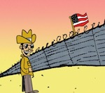 Thumbnail image for La Cucaracha: No one pays for walls better than Mexico! (toon)