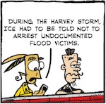 Thumbnail image for La Cucaracha: Empathy gets Trumped by a hurricane (toon)