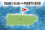Thumbnail image for Donald Trump has plans for Puerto Rico – the best plans! (toon)