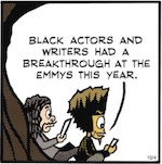 Thumbnail image for The Beandocks: Where were all the Latinos on Emmys night? (toon)