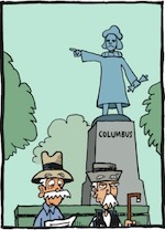 Thumbnail image for La Cucaracha: On Columbus Day, Let's Make America Native Again (toon)