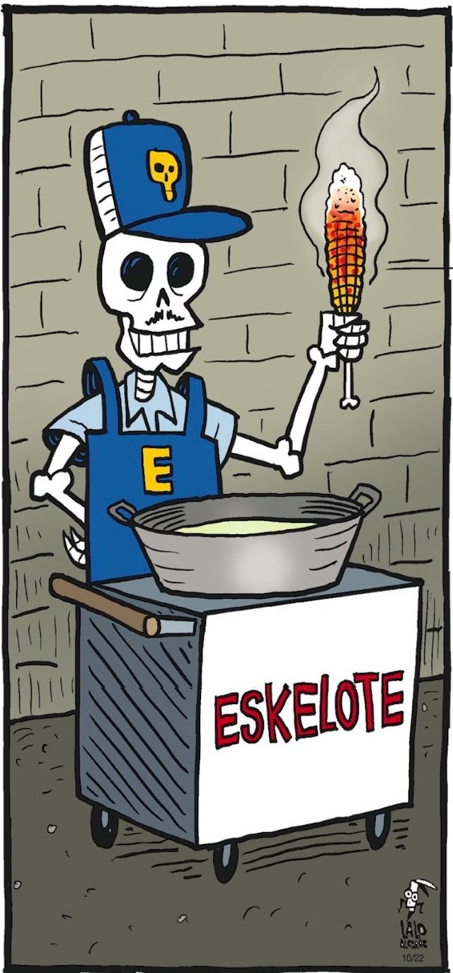 eskelote cartoon