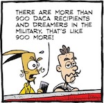 Thumbnail image for La Cucaracha: There are 900 more DREAMers in the military than…