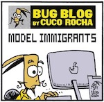 "Thumbnail image for La Cucaracha: Trump's policy is all about ""model immigrants"" (toon)"