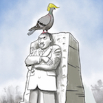 Thumbnail image for MLK Day, 2018, when the chickens came home to roost (toon)