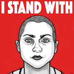 Thumbnail image for I stand with Emma! #GunControlNow #WeCallBS #StandWiththeKids (video, toon, poster, free print-quality PDF download)