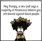 Thumbnail image for The Beandocks: Does Trump show symptoms of racial bias? (toon)