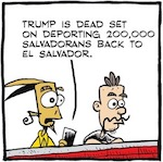 Thumbnail image for La Cucaracha: Why Trump's cancellation of TPS is a disaster (toon)