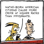 Thumbnail image for La Cucaracha: It's time to deport criminals! (toon)