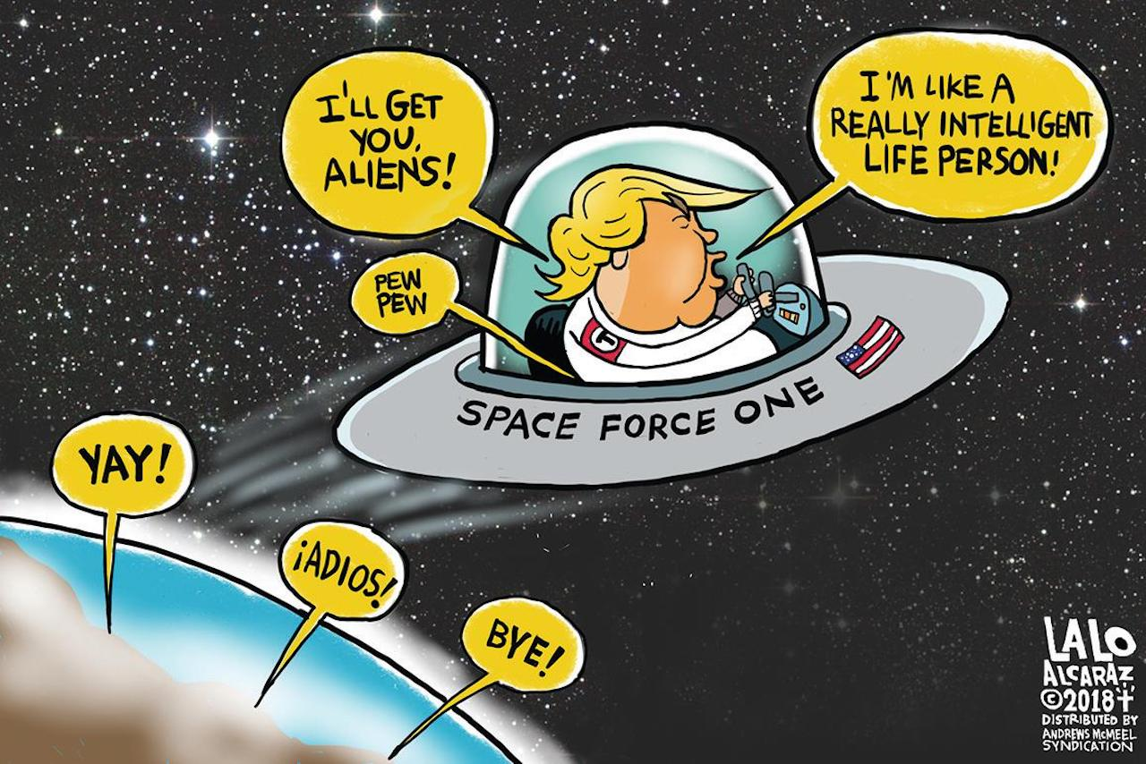 Image result for trump space force