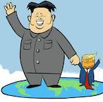 Thumbnail image for Little Kim and Little Donny: BFFs forever! (toon)