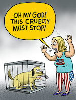 Thumbnail image for Oh my God! Stop the cruelty! (toon)