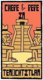 Thumbnail image for La Cucaracha: Chepe and Pepe time travel to Tenochtitlan (toon)
