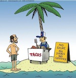 Thumbnail image for La Cucaracha: Is this the worst desert island ever? (toon)