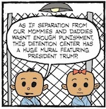 Thumbnail image for La Cucaracha: Mental torture at ICE Kiddy Koncentration Kamps (toon)