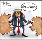 Thumbnail image for How does Trump celebrate the Fourth of July? (toon)
