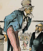 Thumbnail image for POCHO HISTORY 101: Keep poor Irishmen, Italian gangsters, and English convicts OUT OF THE U.S.A! (toon)
