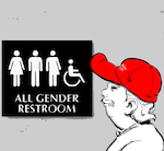 Thumbnail image for About those all-gender restrooms at SARAPE's GRILL (toon)