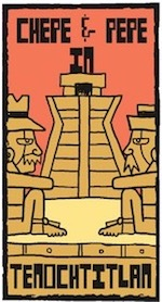 Thumbnail image for La Cucaracha: In ancient Tenochtitlan, Chepe y Pepe build a temple