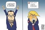 Thumbnail image for Trump and Nixon: Deja vu all over again? (toon)
