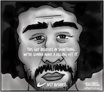 Thumbnail image for NIKE: We call it 'kaepernickitalism' (toon)