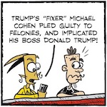 Thumbnail image for La Cucaracha: Why should anyone believe Michael Cohen? (toon)