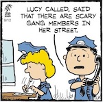 Thumbnail image for La Cucaracha: Lucy reports gang members for being gangy! (toons)
