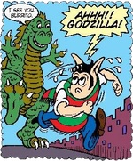 Thumbnail image for GODZILLA MADNESS: Nightmare on Burrito Street (toon)