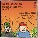 Thumbnail image for La Cucaracha: Border Militia, meet the Mexican Militia!