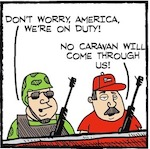 Thumbnail image for La Cucaracha: Alt-white border militias reporting for duty! (toon)