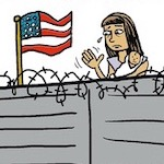 Thumbnail image for La Cucaracha: Another Year, Another Wall (toon)