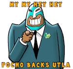 Thumbnail image for My my, hey hey: POCHO backs UTLA! ¡Viva La Huelga! (toon)