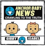 Thumbnail image for Reporters on our borders: La Cucaracha's ANCHOR BABY NEWS (toon)