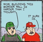 Thumbnail image for La Cucaracha: Building a wall is hard, but somebody's got to do it (toon)