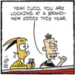 Thumbnail image for La Cucaracha: New Year, New Me! (toon)