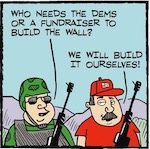 Thumbnail image for La Cucaracha: Meanwhile…on the border (toon)