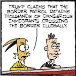 Thumbnail image for La Cucaracha: The Border Patrol needs a few good arrests (toon)