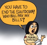 Thumbnail image for Donald will end the shutdown and Mexico will pay (toon)