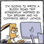 Thumbnail image for La Cucaracha: If it ain't Brokaw, don't fix it – the screenplay (toon)