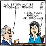 Thumbnail image for La Cucaracha: ¡Esta es la pregunta! To Brokaw or not to Brokaw? (toon)