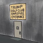 Thumbnail image for New photo documents Trump's wall-building experience (toon)