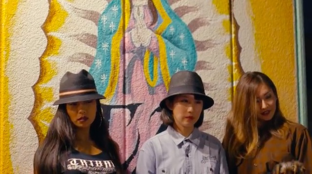 Thumbnail image for ¡Mira! Japanese chicas who dress like cholas I mean Chicanas  (video)