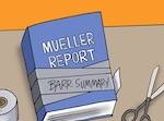 Thumbnail image for The Mueller Report, according to Attorney General Barr (toon)