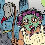 Thumbnail image for La Cucaracha: Summertime, when the living is OMG CHORES! (toon)