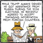 Thumbnail image for La Cucaracha: The business genius behind 'Russiagate' (toon)