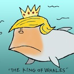 Thumbnail image for Presidential Twitter spellcheck? Nah, it sleeps with the fishes (toon)