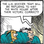 Thumbnail image for La Cucaracha: Who scored the final goal in USWNT soccer? (toon)